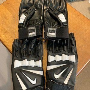 Nike Hyperbeast 2.0 Padded Lineman Football Gloves